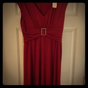 Coldwater Creek Red Dress NWT